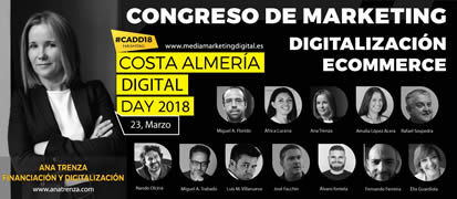 Ana Trenza - Congreso de Marketing Digital - Costa de Almería Digital Day 2018