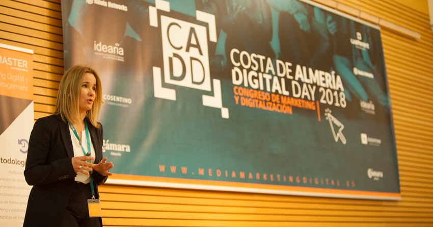 CADD18 Costa Almería Digital Day 2018  – Congreso de marketing digital: «Digitalización y financiación»