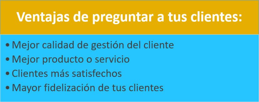 Ana Trenza - Ventajas Preguntar Clientes