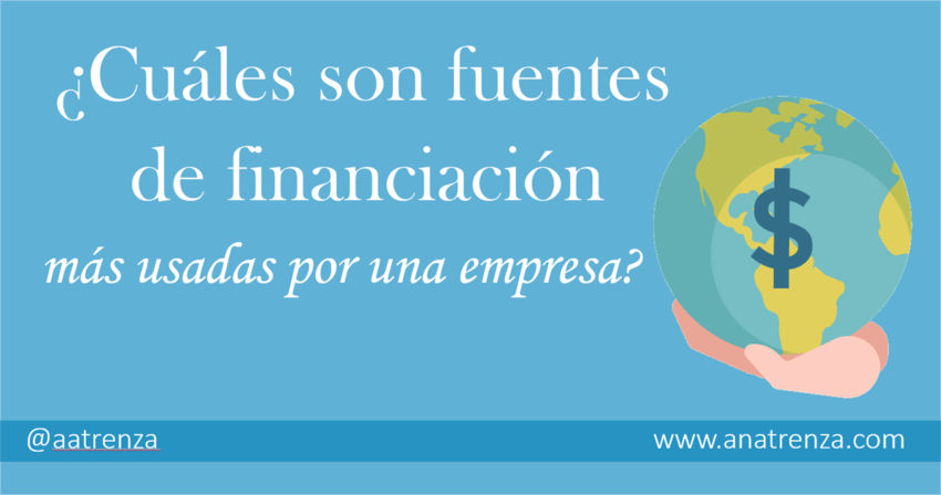 Ana Trenza - Fuentes de Financiacion