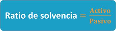 Ana Trrenza - Ratio de Solvencia - Formula