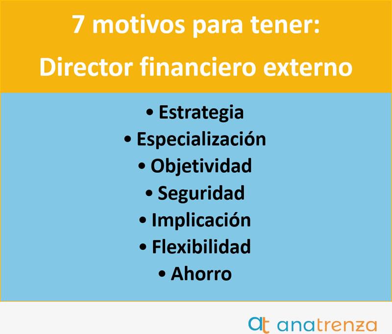 Ana Trenza - 7 Motivos para tener un director Financiero