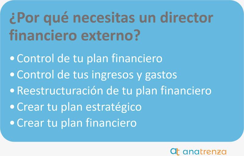 Ana Trenza - Necesidad de un director financiero externo