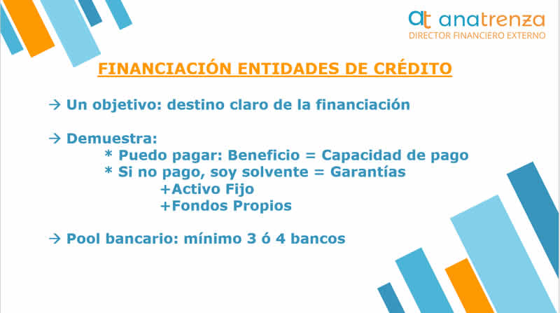 Ana Trenza - Financiacion para Empresas - Financiacion Entidades de Credito