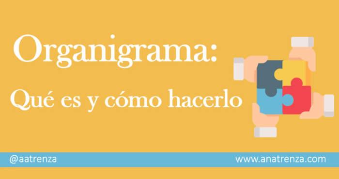 Ana Trenza - Organigrama - Que es y como hacerlo