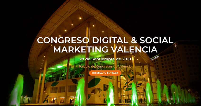 Congreso Digital Social Marketing Valencia