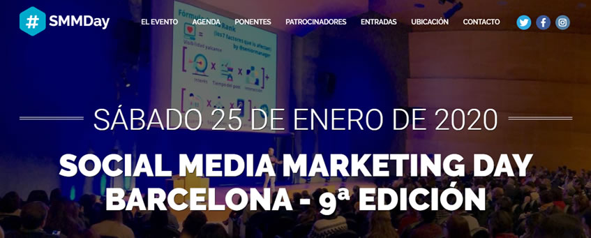Congresos de Marketing Digital 2020 - SMM Day - Ana Trenza
