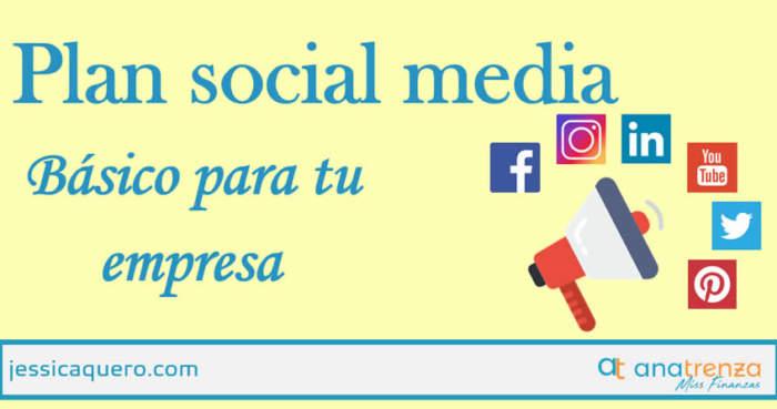 Plan Social Media Basico para tu Empresa - Ana Trenza