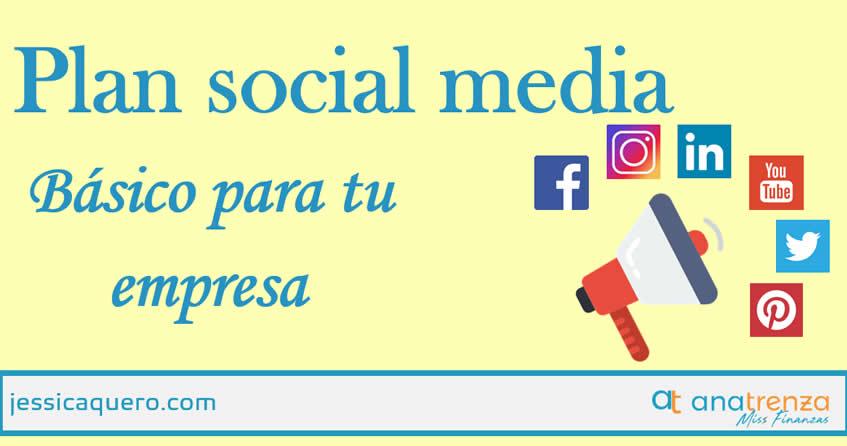 Plan de Social Media básico para tu empresa