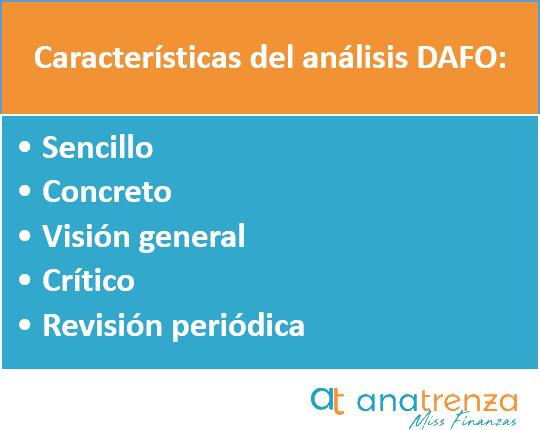 Como hacer un Analisis Dafo en una Empresa - Ana Trenza - Caracteristicas del Analisis DAFO