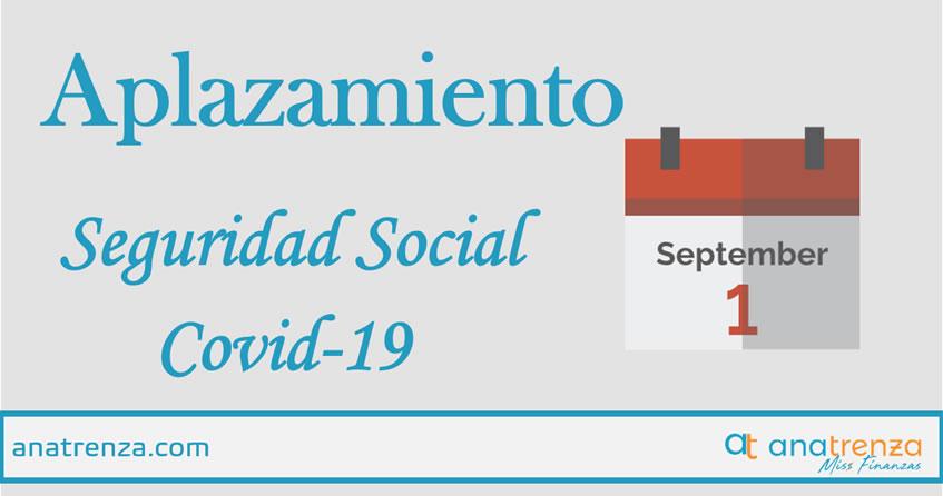 Ana Trenza - Aplazamiento de las cuotas de la Seguridad Social por COVID19
