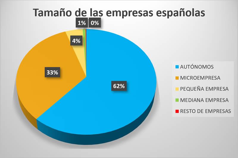 Ana Trenza - Diferencia Microempresa Pequeña Empresa Mediana Empresa - Tamaño Empresas Españolas