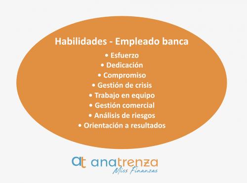 Habilidades del empleado de banca