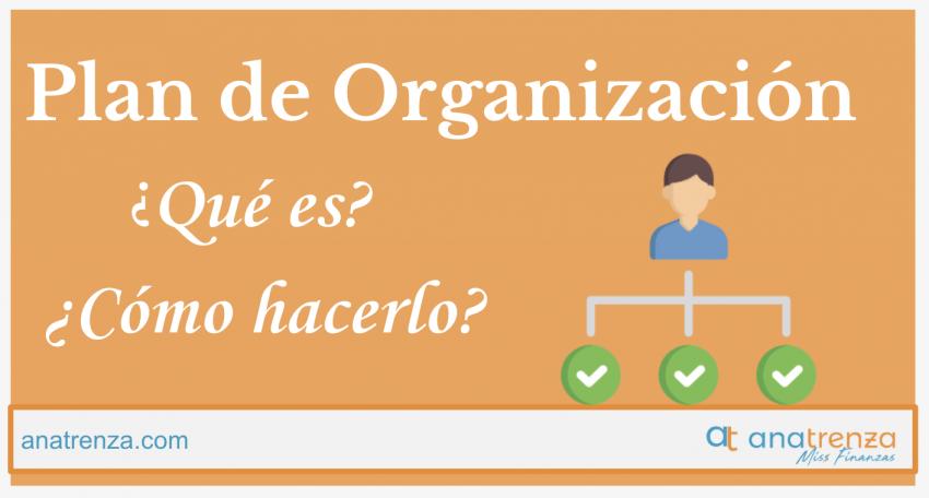 Plan de organización