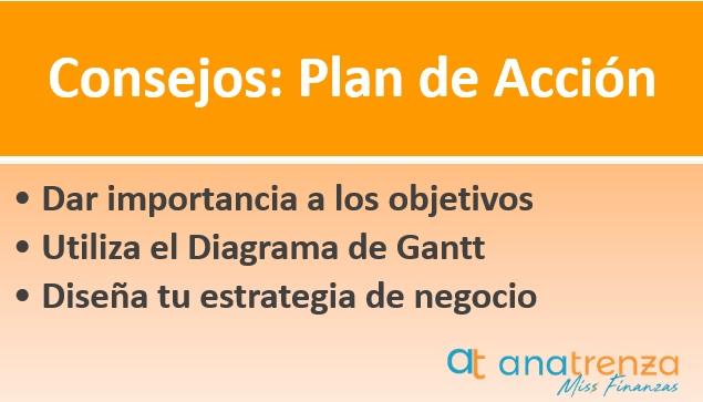 Consejos para hacer un plan de acción